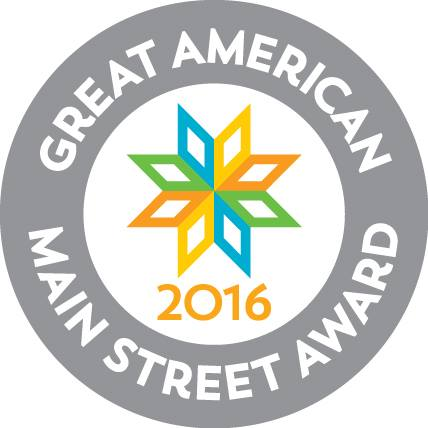 main street award logo